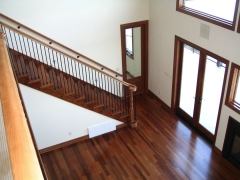 SAPELE AND STAIRS