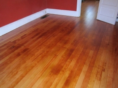 TYPICAL OLD FIR FLOOR WITH SWEDISH FINISH